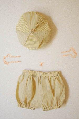 *カンボジアの綿クロマーと赤ちゃん帽子のお店*-子供用カボチャパンツ tau mock tiet