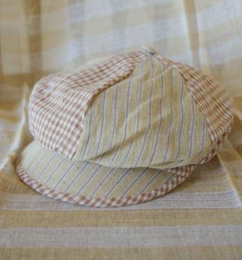 *カンボジアの綿クロマーと赤ちゃん帽子のお店*-子供用帽子Tau moc ktiet