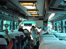 浄土宗災害復興福島事務所のブログ-20130526田植え④バスレク