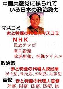 日本人の進路-中国共産党に操られている日本の政治勢力