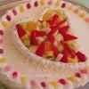 ハッピーウェディングケーキの画像