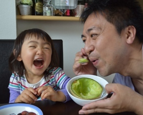 家族で分け合う 家族愛】 | 笑う子どもの育て方、教えます ~最期に ...