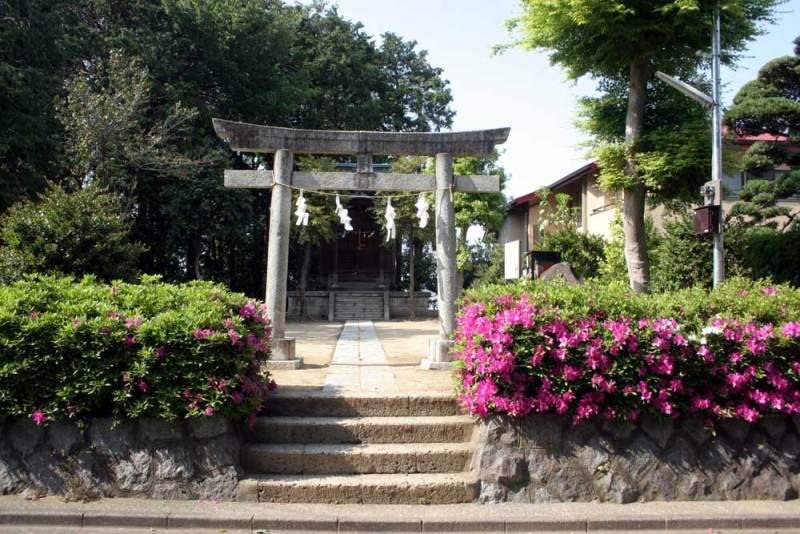 関戸城/金平羅宮