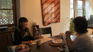 青野茂美さんのメイクレッスン開催の記事より