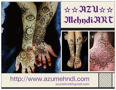 $as**log    AZU Mehndi Art