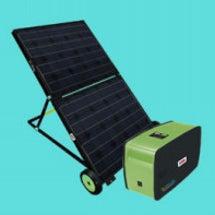 ポータブル太陽光発電…