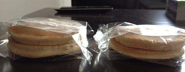 Pancakeholicのブログ-みなさまのお墨付きホットケーキ 横