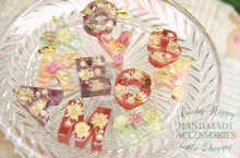 LuckyHappy☆お花のオリジナルハンドメイドアクセサリー