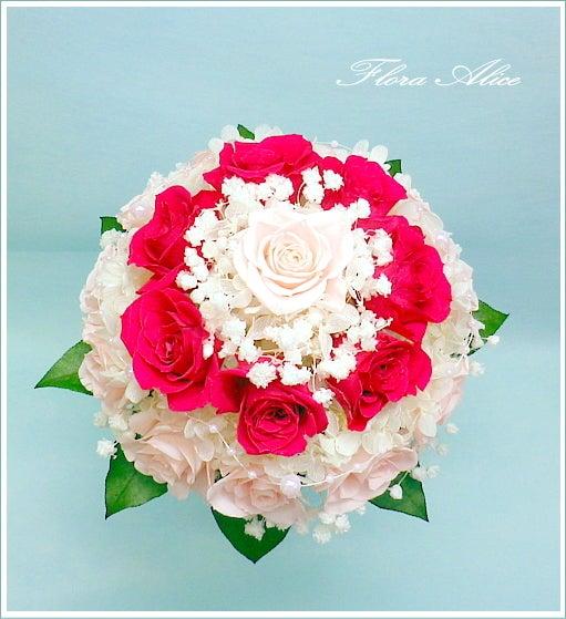 不思議な花のアリスのプリザーブドフラワーin山形