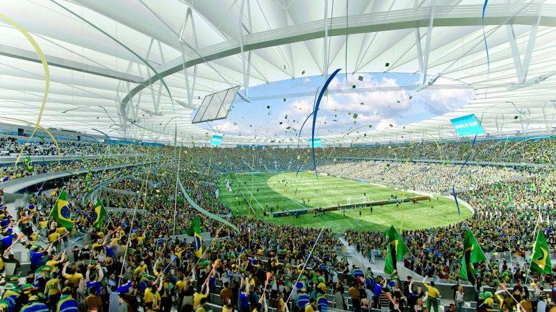 ブラジル マラカナンスタジアム