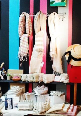 *カンボジアの綿クロマーと赤ちゃん帽子のお店*-ブリーゼブリーゼ クロマーTau mock tiet