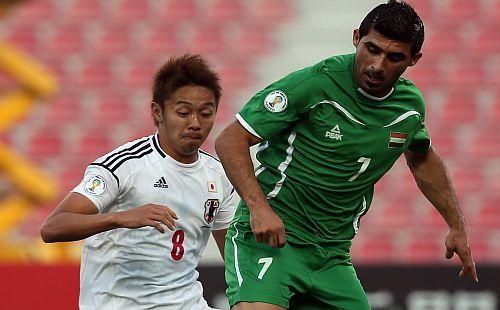 清武弘嗣 サッカー 日本代表 ワールドカップ 最終予選 イラク