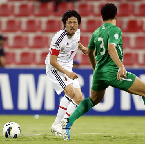 遠藤保仁 サッカー 日本代表 ワールドカップ 最終予選 イラク