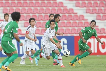 香川真司 サッカー 日本代表 ワールドカップ 最終予選 イラク