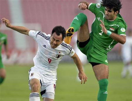 岡崎慎司 サッカー 日本代表 ワールドカップ 最終予選 イラク