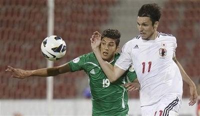 ハーフナーマイク サッカー 日本代表 ワールドカップ 最終予選 イラク