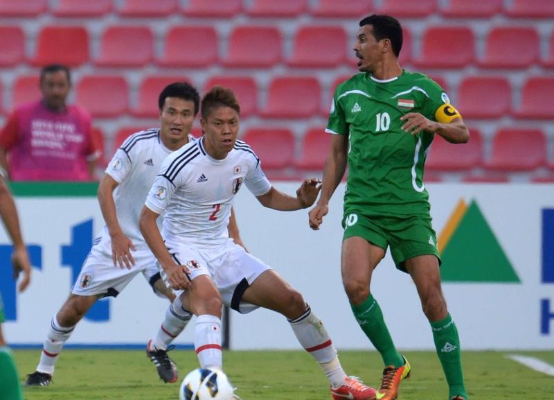 今野泰幸 伊野波雅彦 サッカー 日本代表 ワールドカップ 最終予選 イラク