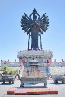 中国大連生活・観光旅行ニュース**-大連 千手観音風景区