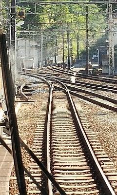神戸電鉄 有馬口駅に折り返し用...
