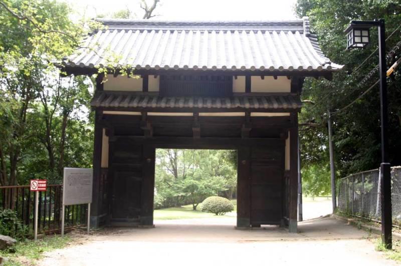 名島城/福岡城跡にある名島門