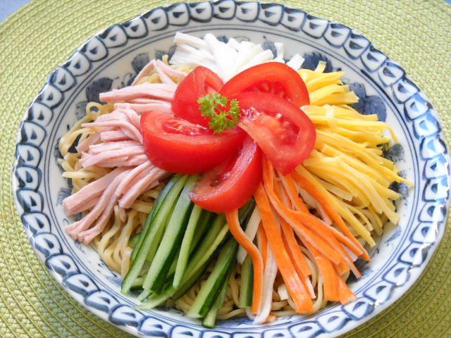 Hiyashi chuka nouilles froides que c 39 est bon for Apprendre la cuisine japonaise