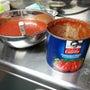 トマトソース。