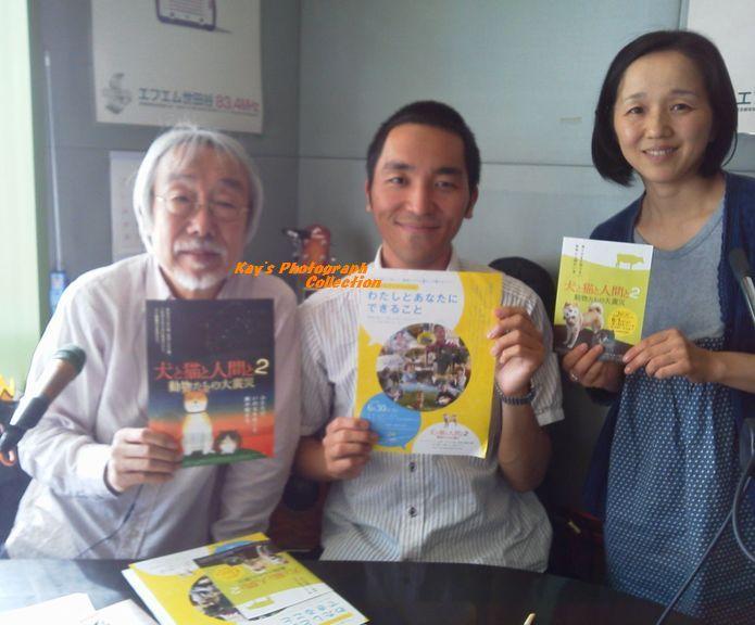 石塚恵子のおしゃべりモーニングのブログ-小室等さんとB.jpg