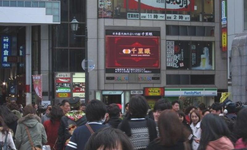 こちら広報部!@占いの館 千里眼のブログ-道頓堀ひっかけ橋に千里眼