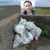 まる6年、7年目に突入する高松海岸のピーチクリーン Seiji君は雨天でも一人でごみ拾い!の画像
