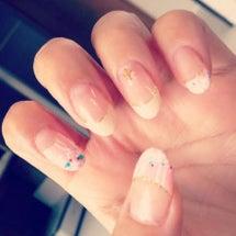 My nail.