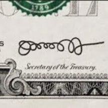 ドル紙幣に「ぐるぐる…