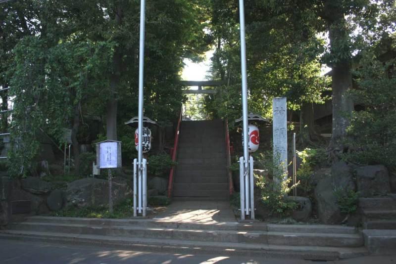 牟礼砦/神明社入口