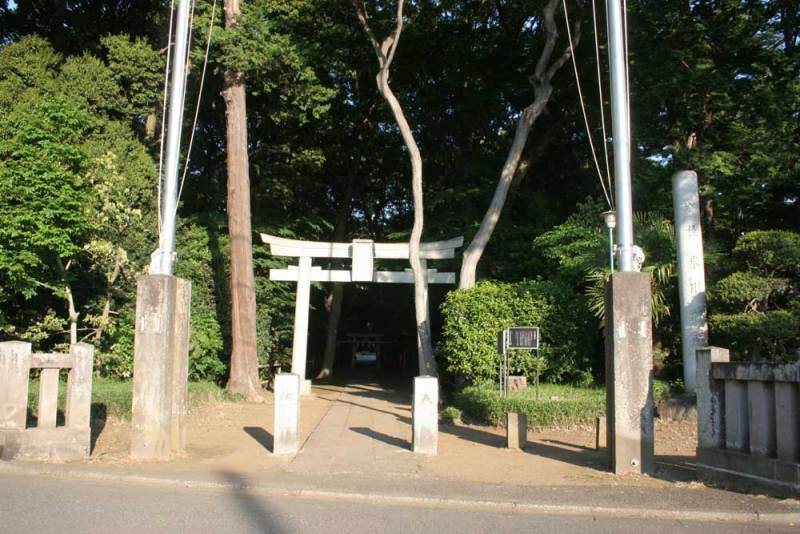 喜多見屋敷/氷川神社