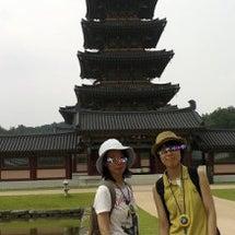 韓国でバスツアーに参…