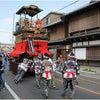 平成25年大野祭の様子(梅榮車)の画像