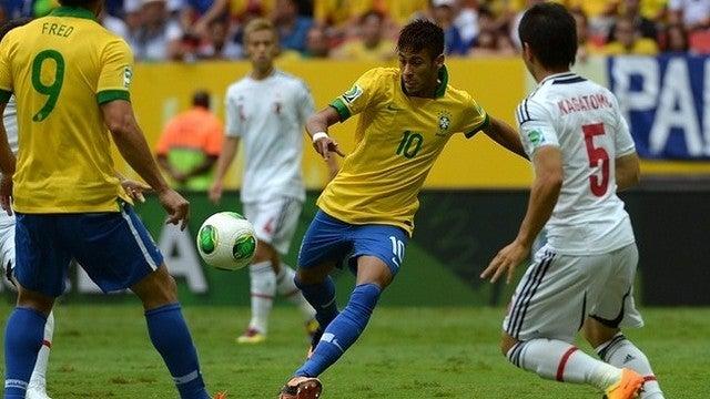 サッカー ブラジル ネイマール コンフェデレーションズカップ 準決勝