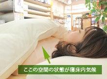$ウメナ寝具のBLOG-寝床内気候