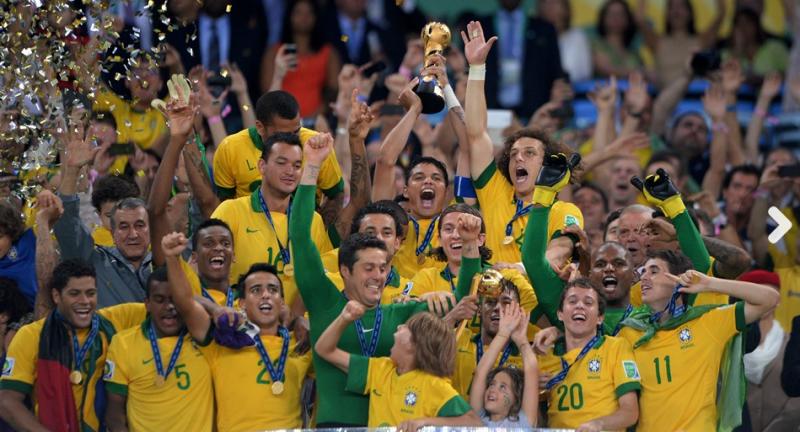コンフェデレーションズカップ優勝 ブラジル代表