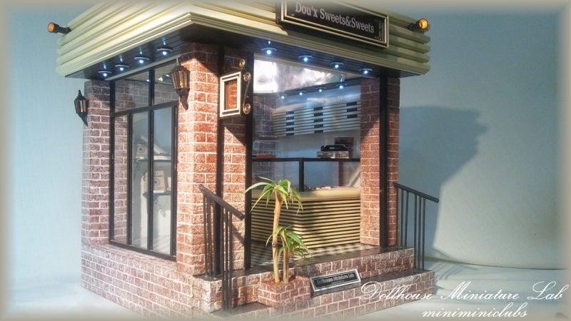 ★ 手作り ハンドメイド ドールハウスミニチュア研究所  ミニチュアフード スイーツ スイーツデコ 製作 dollhouse miniature Lab