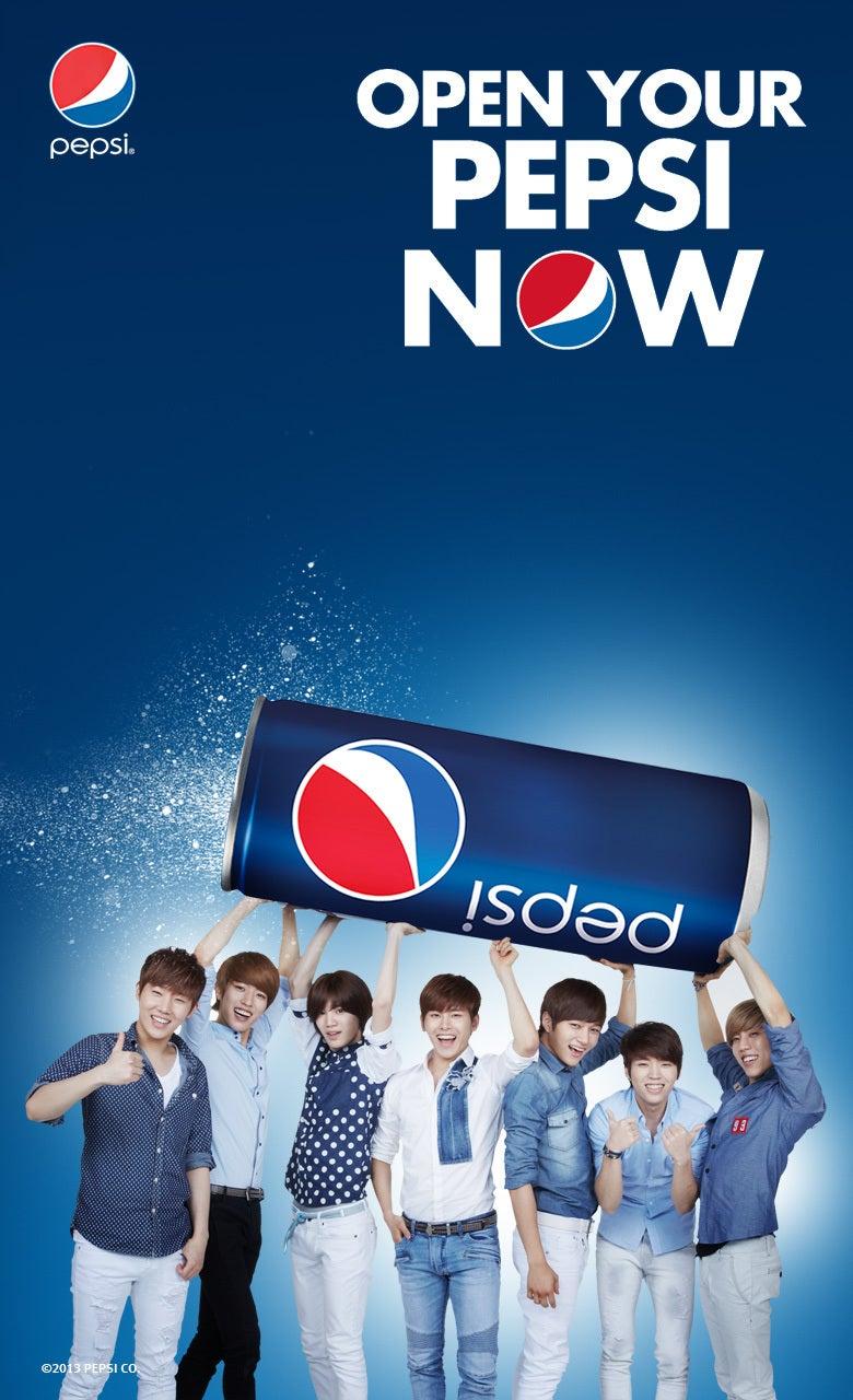 130701 Open Your Pepsi 壁紙 アプリ ゲーム画像 Infinite Haruharu