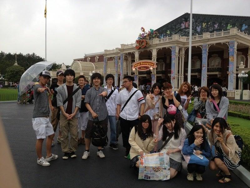 雨の日の、、、ディズニーランド♫ | 鹿島学園 通信制 新宿 ...