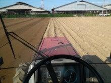 大和芋 シゲオ農園-トラクターの車窓から
