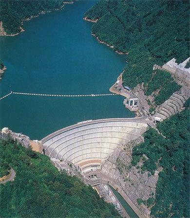 西陣に住んでます-奈川渡ダム