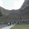 オリャンタイタンボの神殿は、強烈な天の太陽のパワー!! ペルーの画像