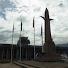 高台にあるサクサイワマンは清々しいパワー。ペルーの画像
