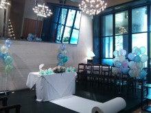 立川  フラワー教室 お好きなお花でアレンジしてインテリアや贈り物に アトリエ  クリスタルローズ-ウェデイング装飾~バルーンとお花のコラボ