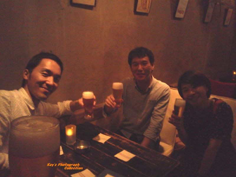 石塚恵子のおしゃべりモーニングのブログ-ユーロ最終日の乾杯b.jpg