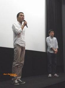 石塚恵子のおしゃべりモーニングのブログ-ユーロ最終回監督挨拶b.jpg