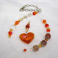 :: 8carat ::-Orange Hearts