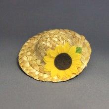 モルモットの麦わら帽子(サンフラワー)